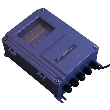 外夹式超声波流量计安装
